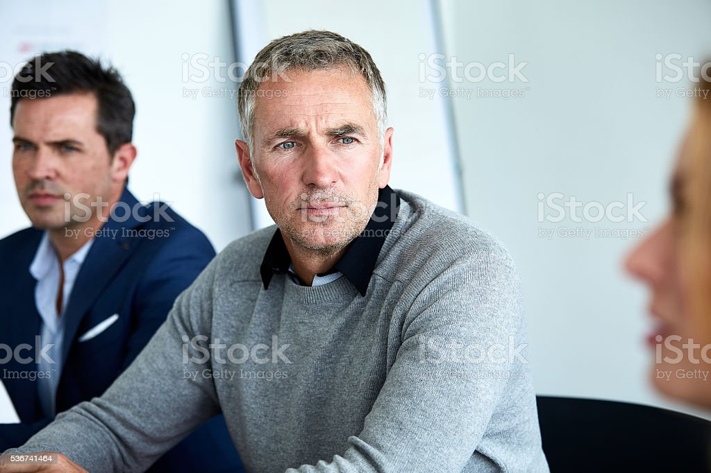 Good managers always listen to their staff stock photo