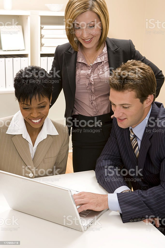 Good Meeting royalty-free stock photo