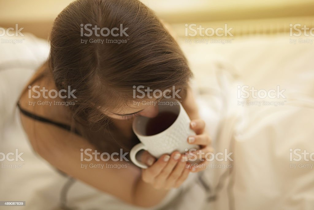 good morning coffee time royalty-free stock photo