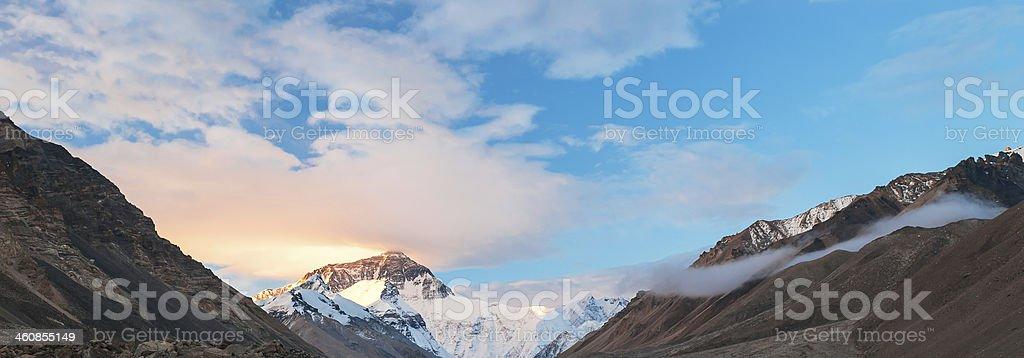Good Morning Everest stock photo