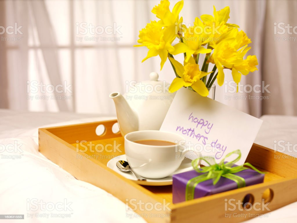 Good Morning Mum royalty-free stock photo