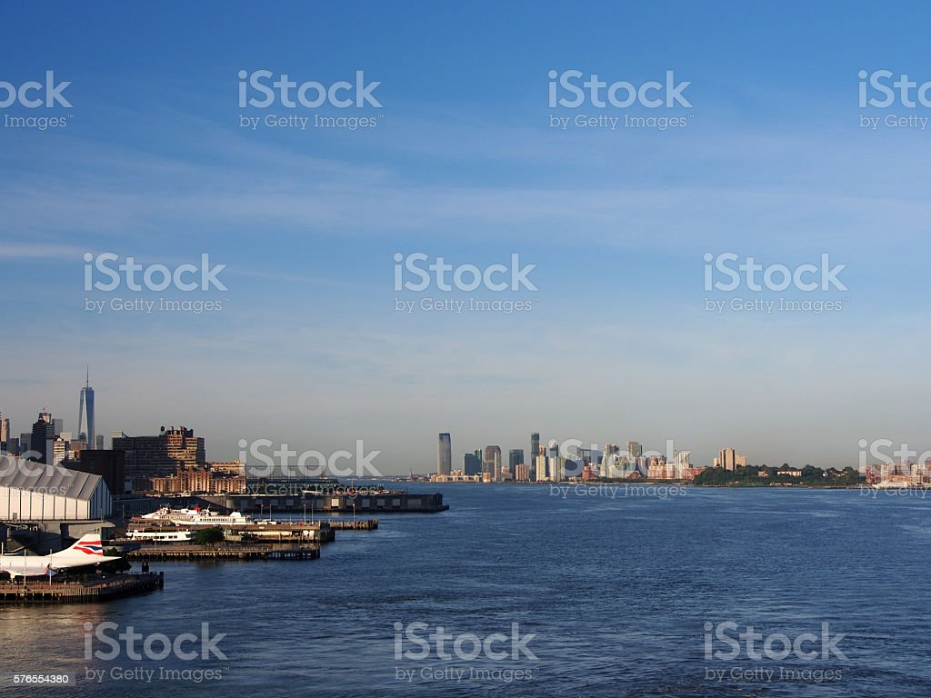 Good Morning New York and New Jersey stock photo
