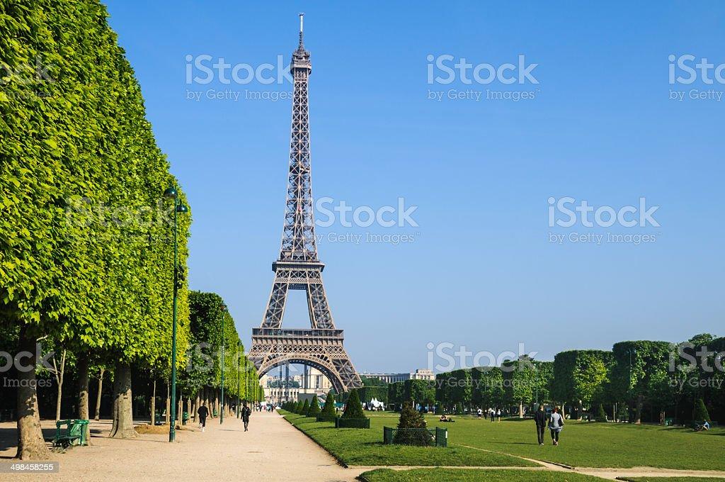 Good Morning, Paris stock photo