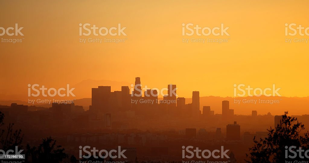Good morning LA stock photo