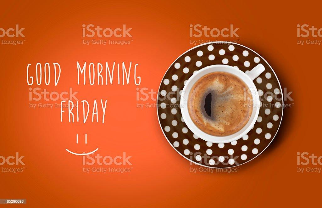 Good morning stock photo