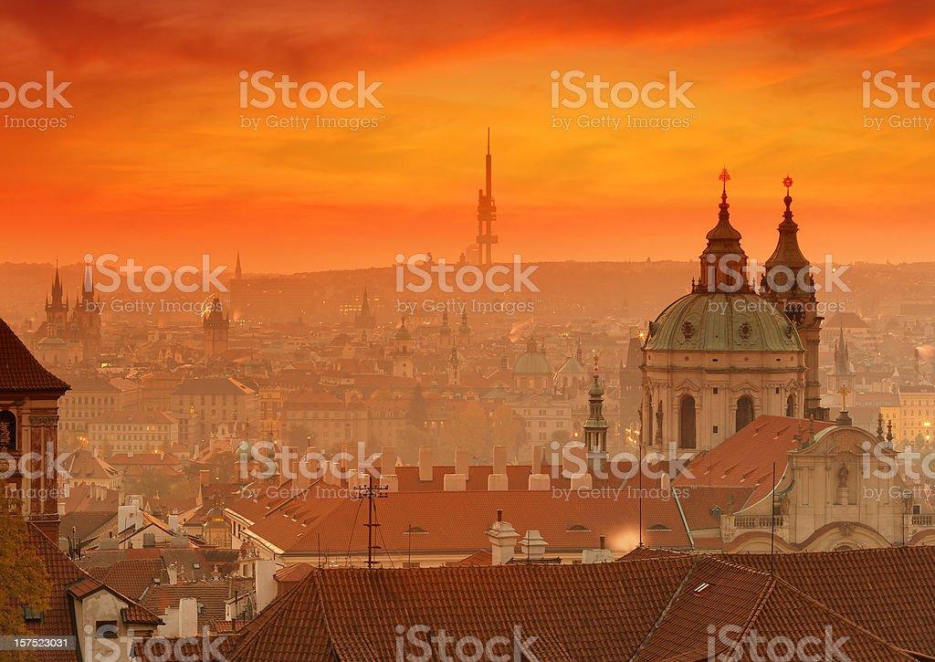 Good morning Prague royalty-free stock photo