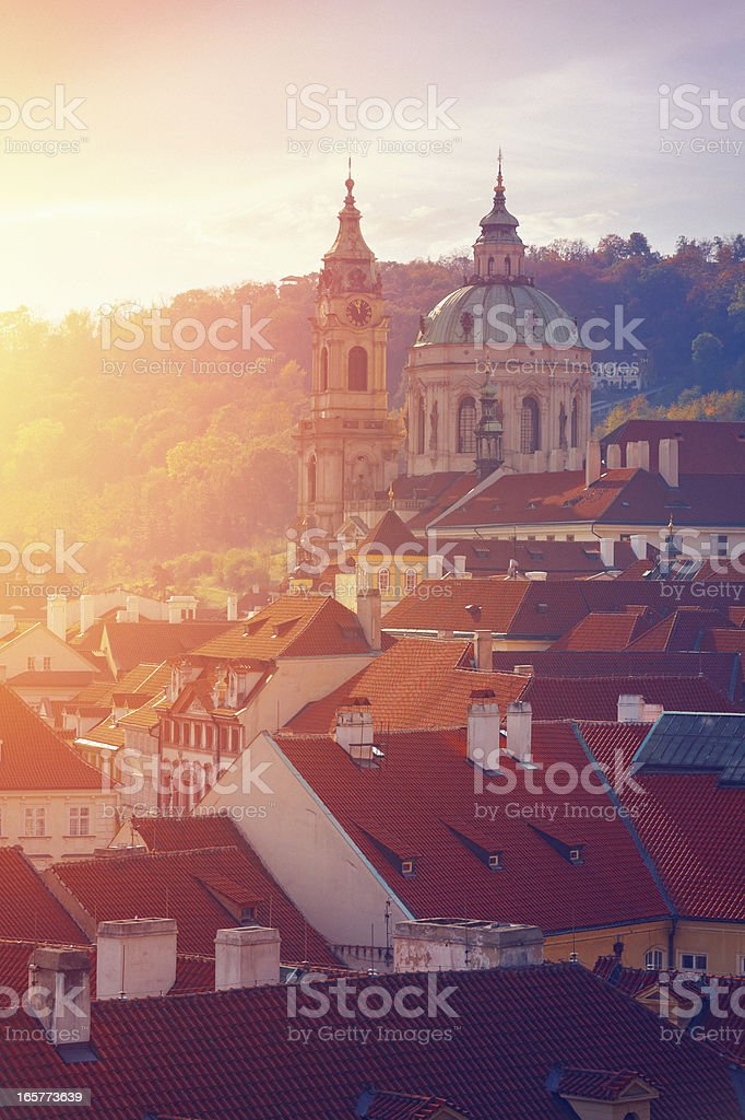 Good morning Prague royalty-free stock photo