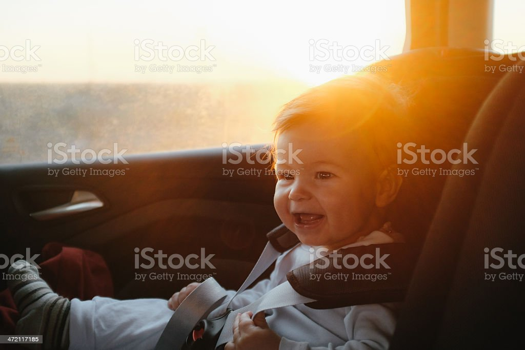 Good Morning, Road! stock photo
