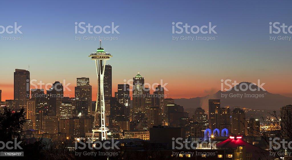 Good Morning, Seattle. royalty-free stock photo