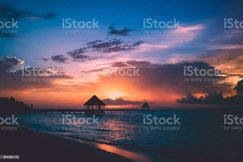 Good morning, world (landscape) stock photo