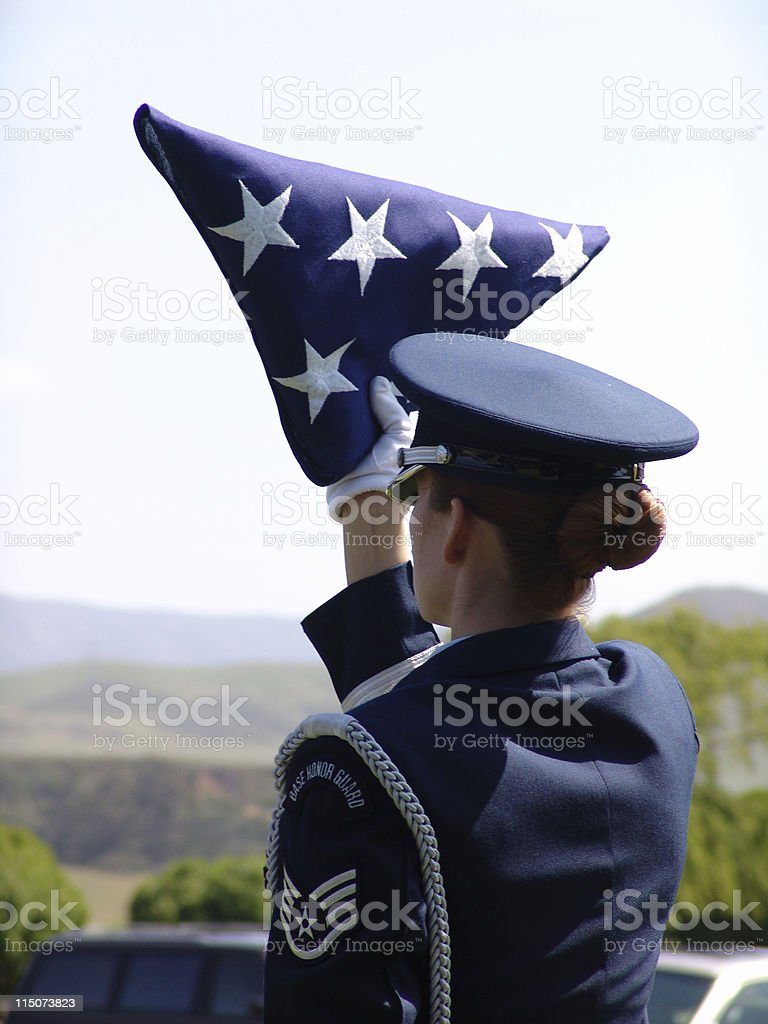 Good Mourning, Soldiers royalty-free stock photo