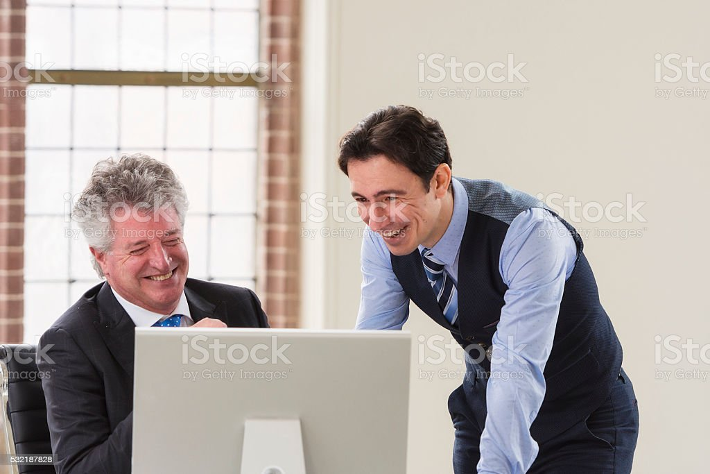 Good news for business stock photo