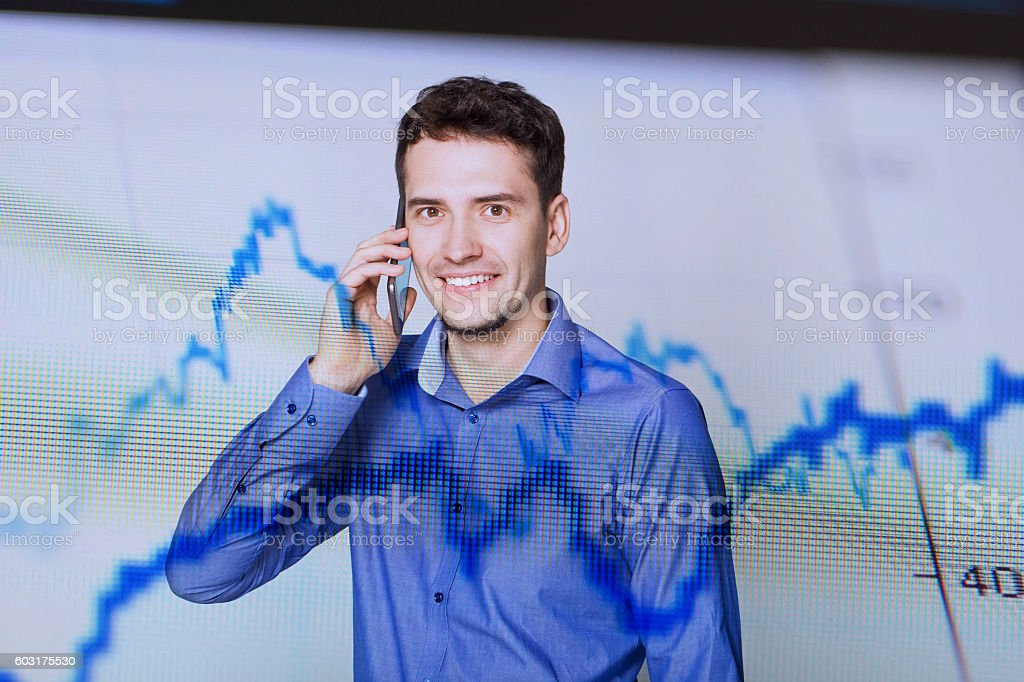 Good News In Market Analyses. stock photo