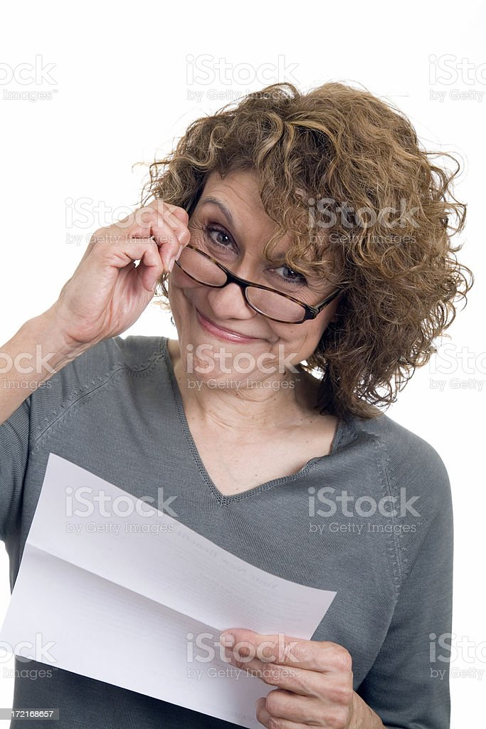 Good News Letter royalty-free stock photo