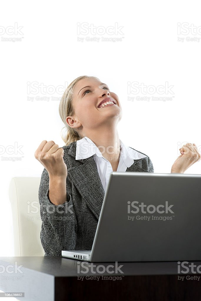 Good news! stock photo