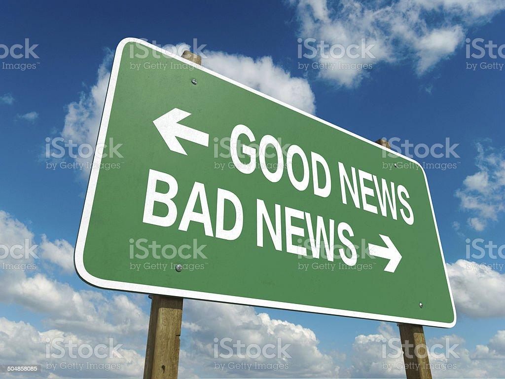 good news stock photo