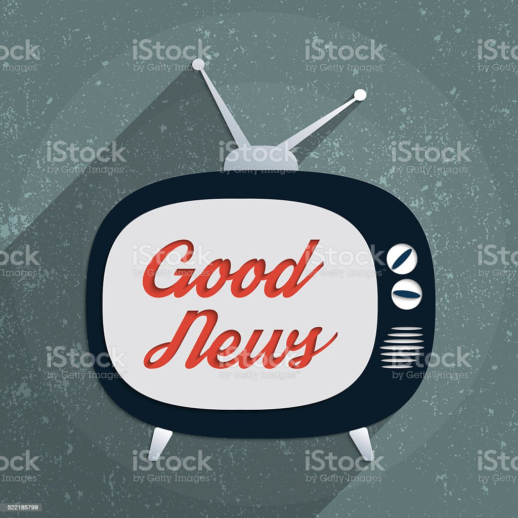Good News stock photo