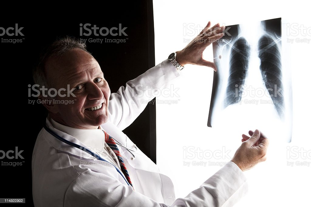 Good news X-ray royalty-free stock photo