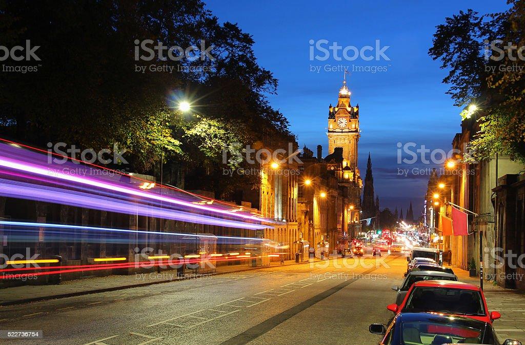 Good night Edinburgh stock photo