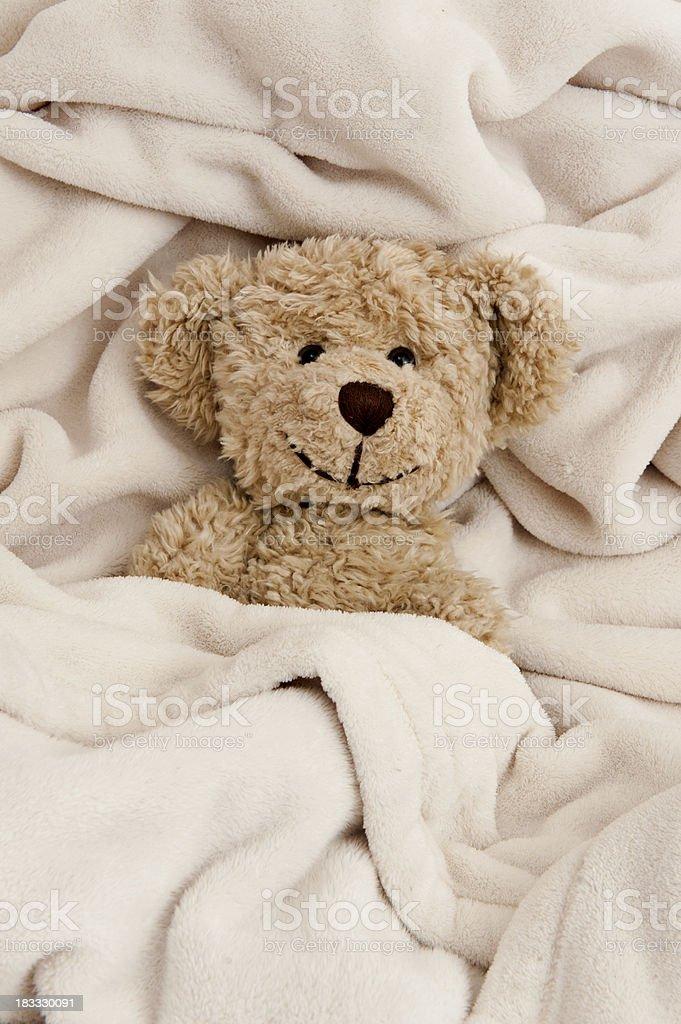Good Night Teddy Bear royalty-free stock photo