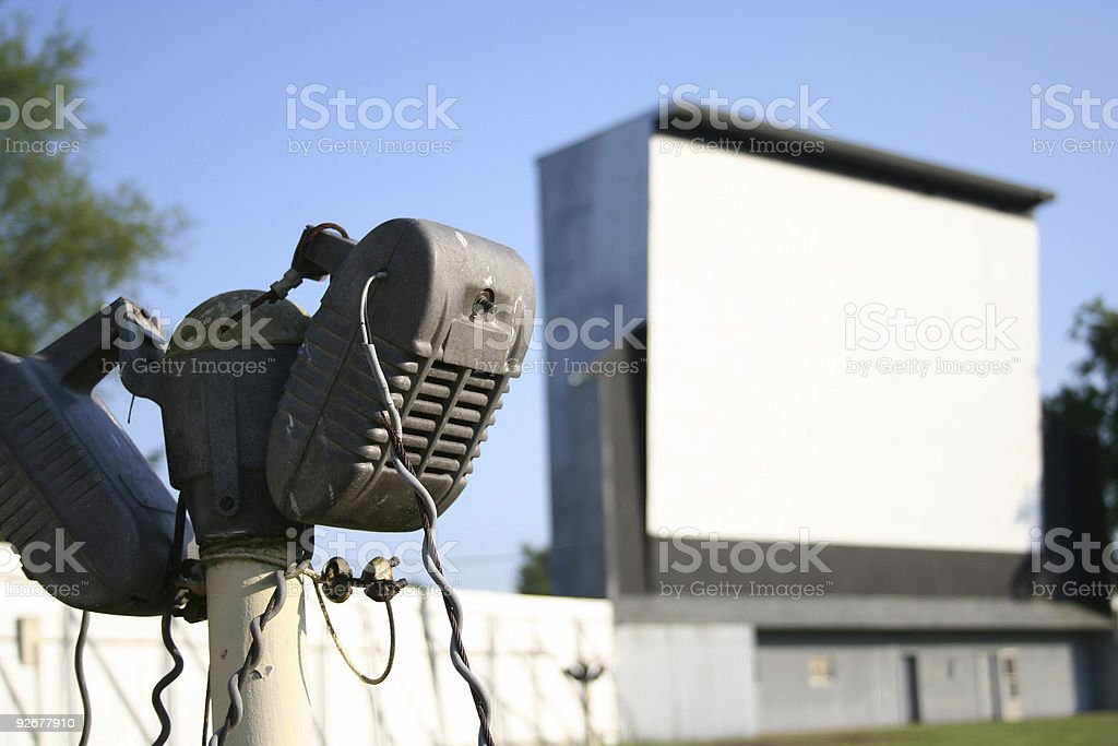 Good 'ol Days - Drive In (H) stock photo