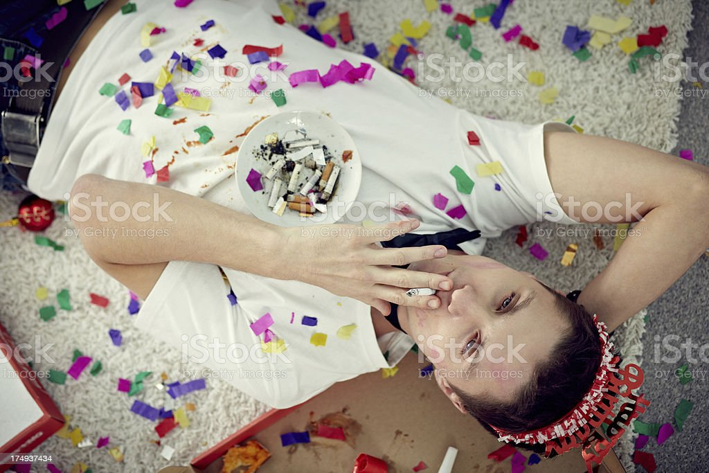 Good party royalty-free stock photo