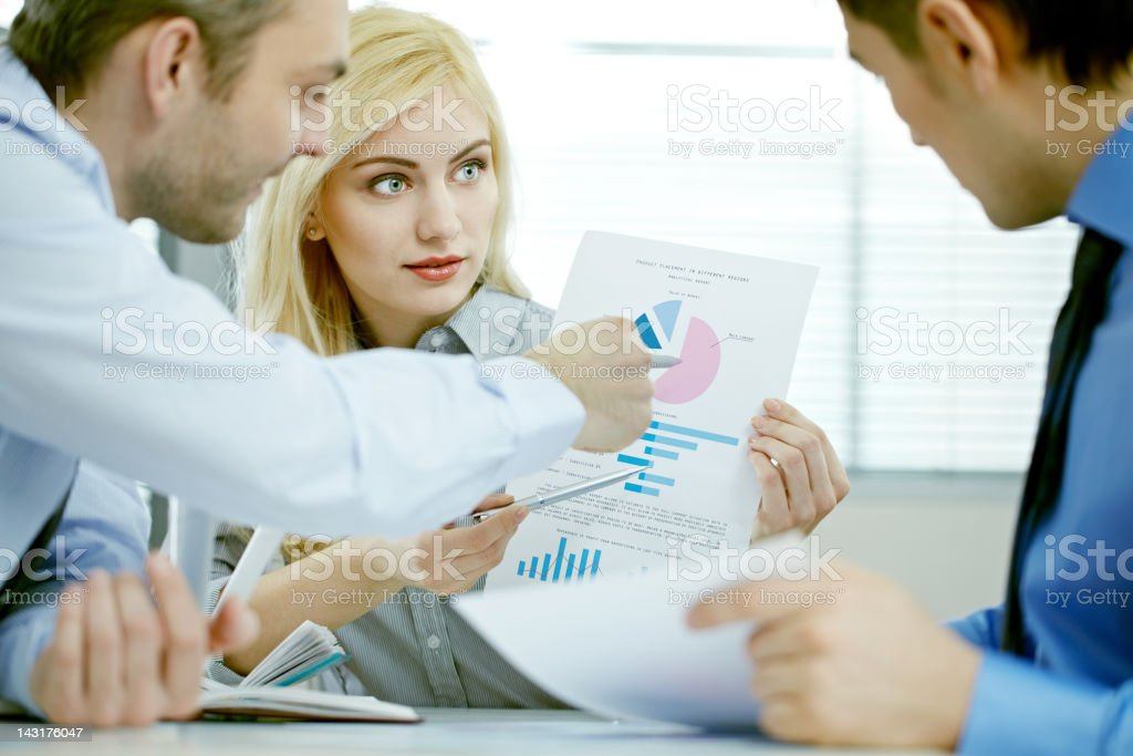 Good results royalty-free stock photo