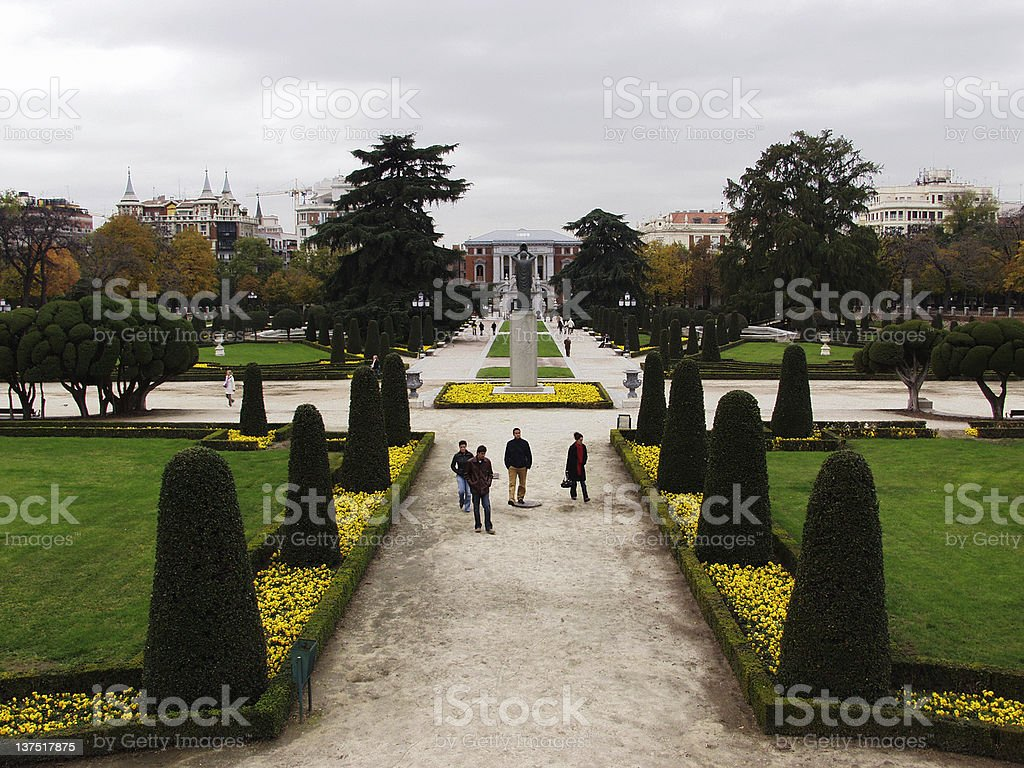 Buen Retiro royalty-free stock photo