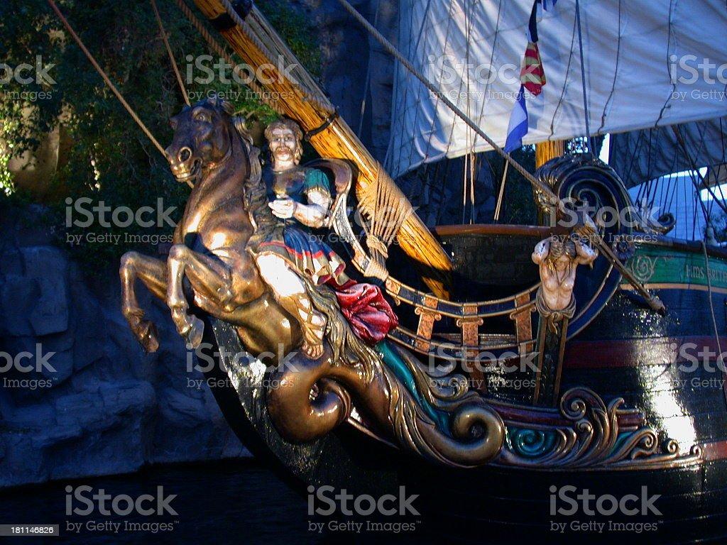 Good ship Britannia royalty-free stock photo