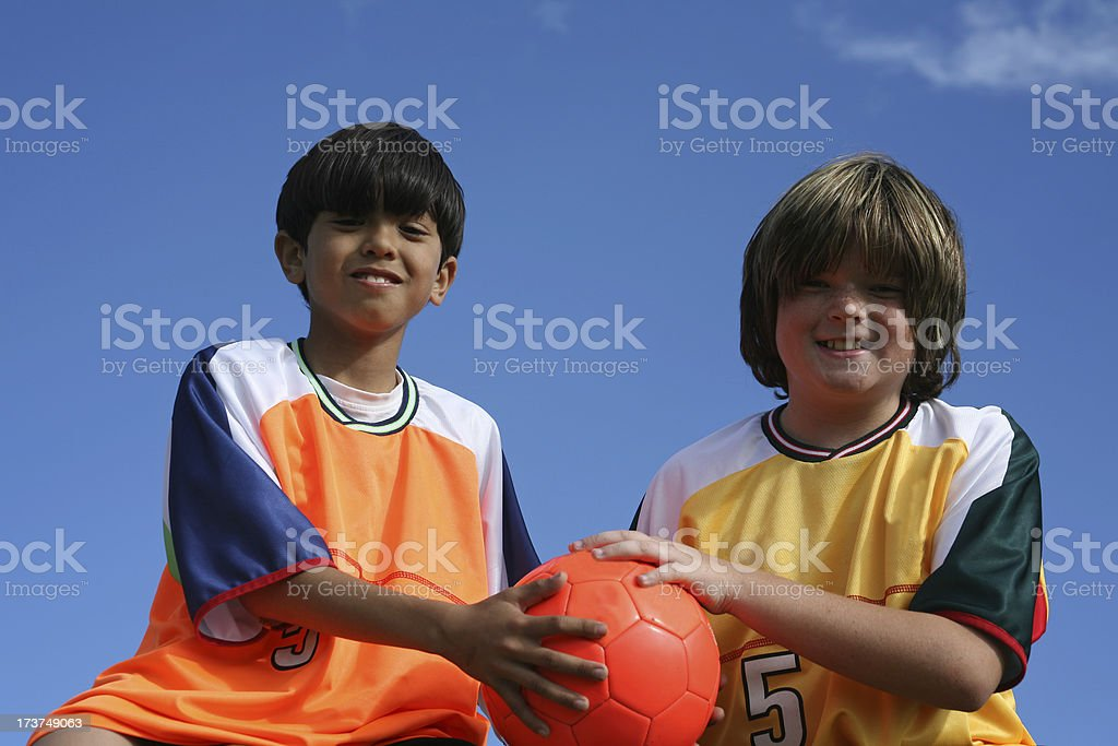 Good Sportsmanship royalty-free stock photo