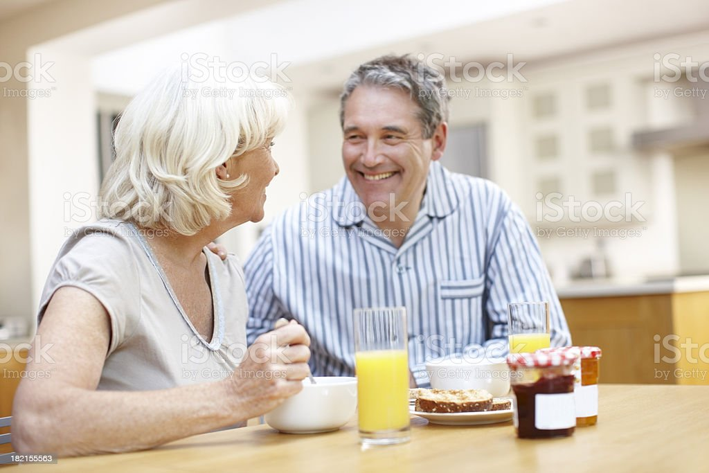 Good start to the day royalty-free stock photo