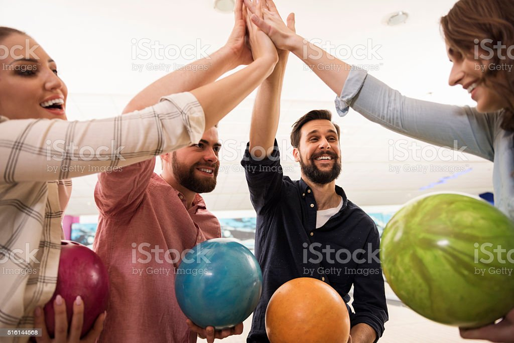 Good team means certain victory stock photo