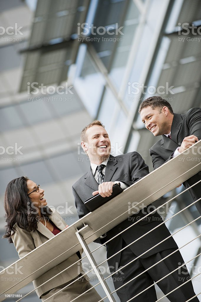 Good Time Colleagues stock photo