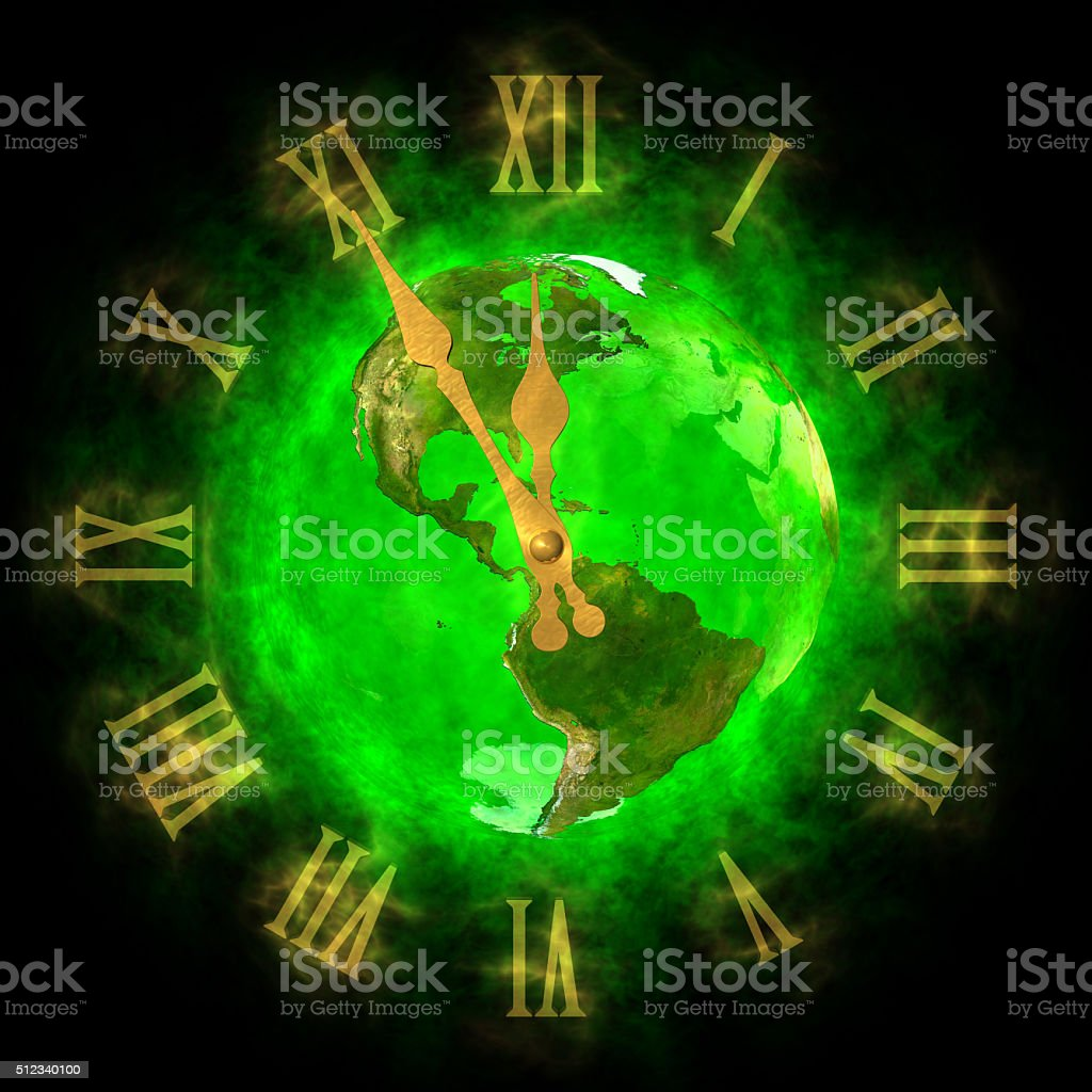 Good time on green planet Earth - America stock photo
