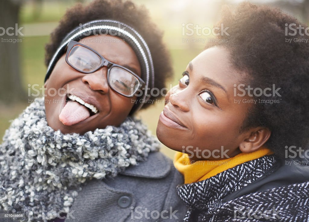 Good times together stock photo