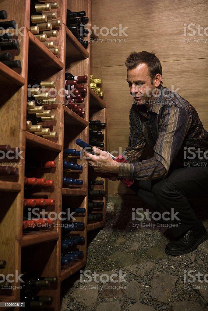 Good wine stock photo