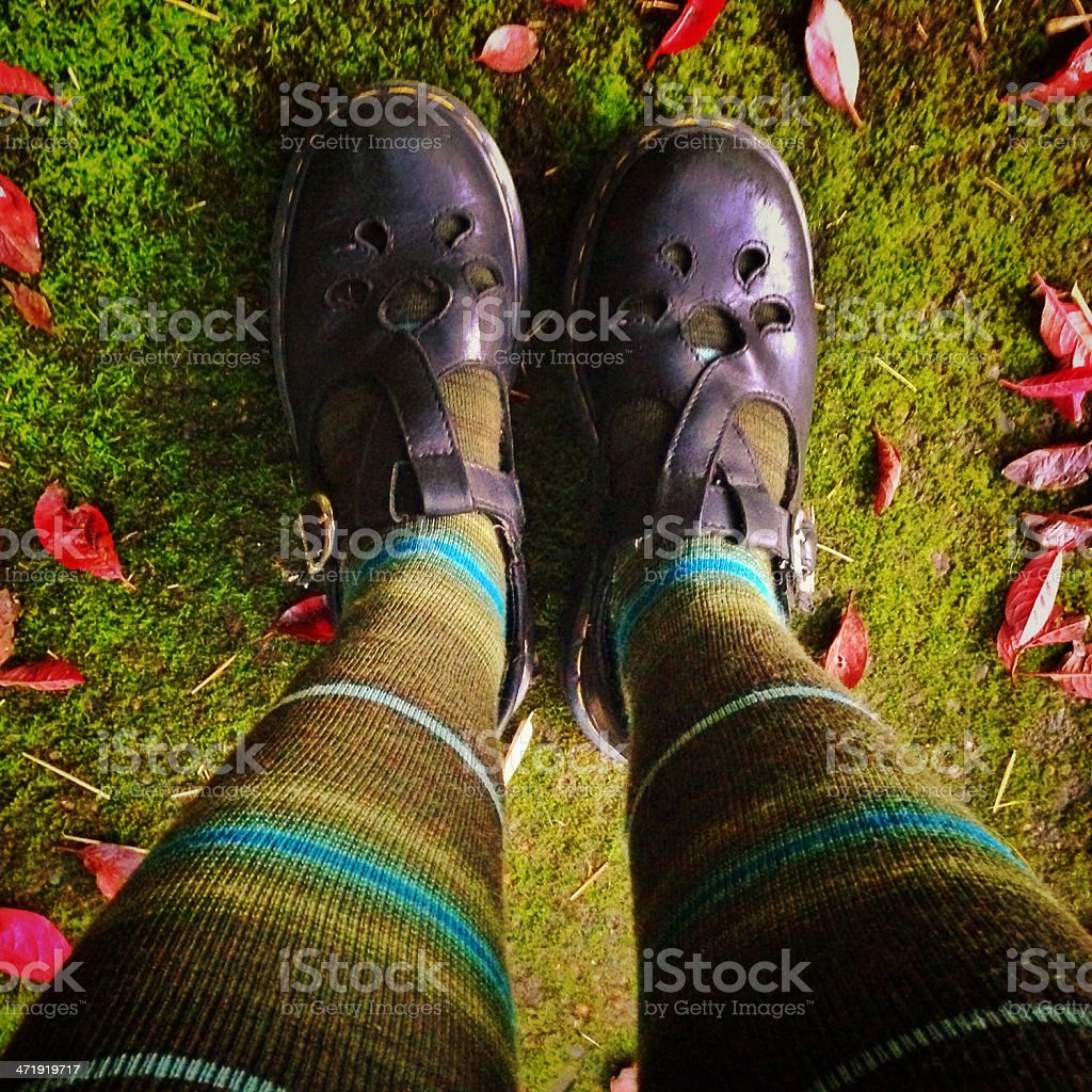 Good witch of the Pacific Northwest stock photo