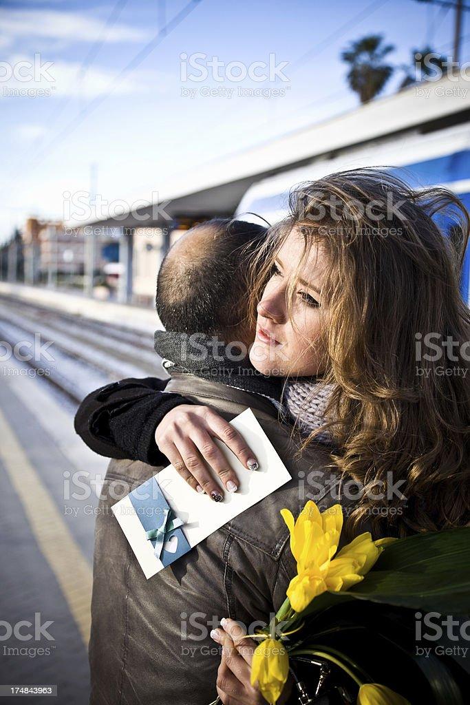 Goodbye My Love royalty-free stock photo