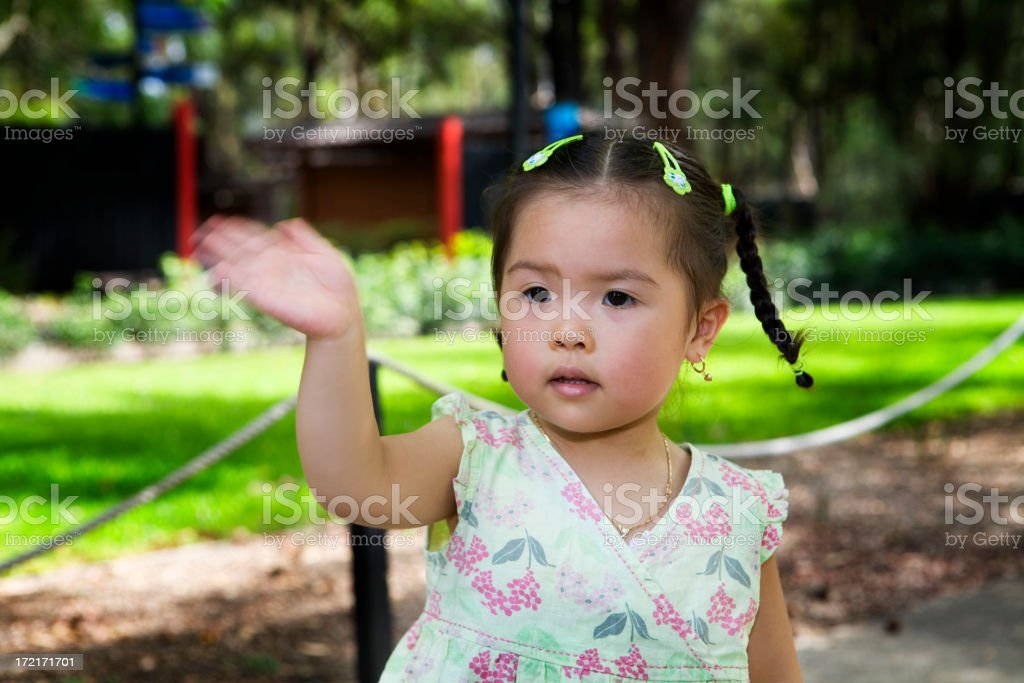 Goodbye! royalty-free stock photo