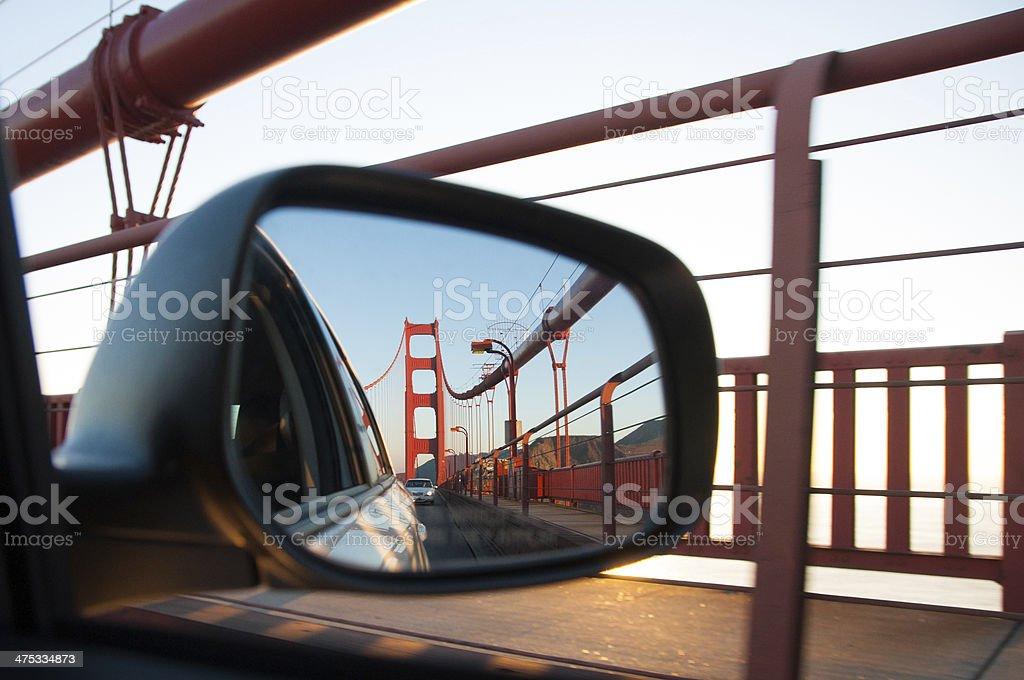 Goodbye San Francisco stock photo