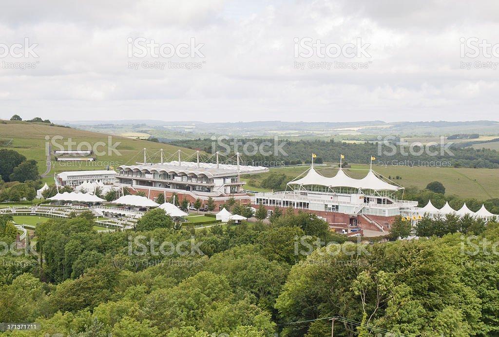 Goodwood Race Course stock photo