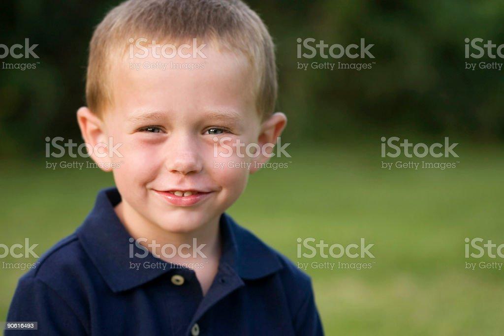 Goofy Boy royalty-free stock photo