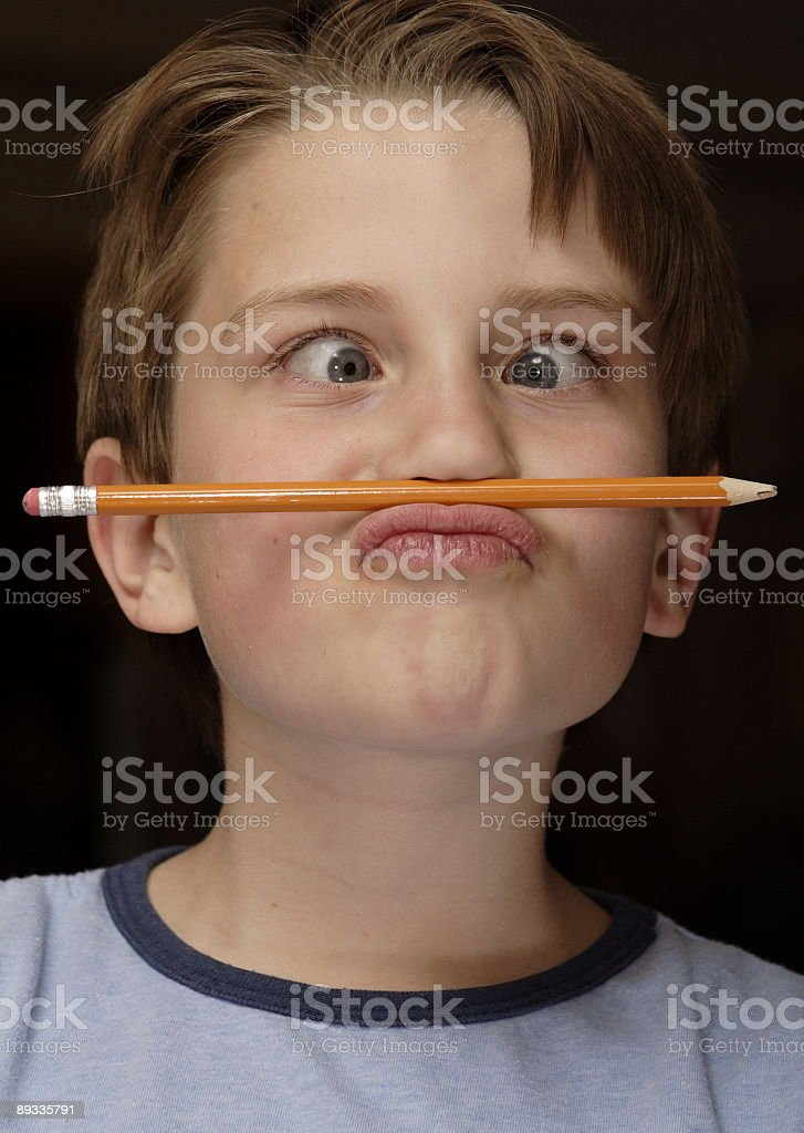 Goofy Kid royalty-free stock photo
