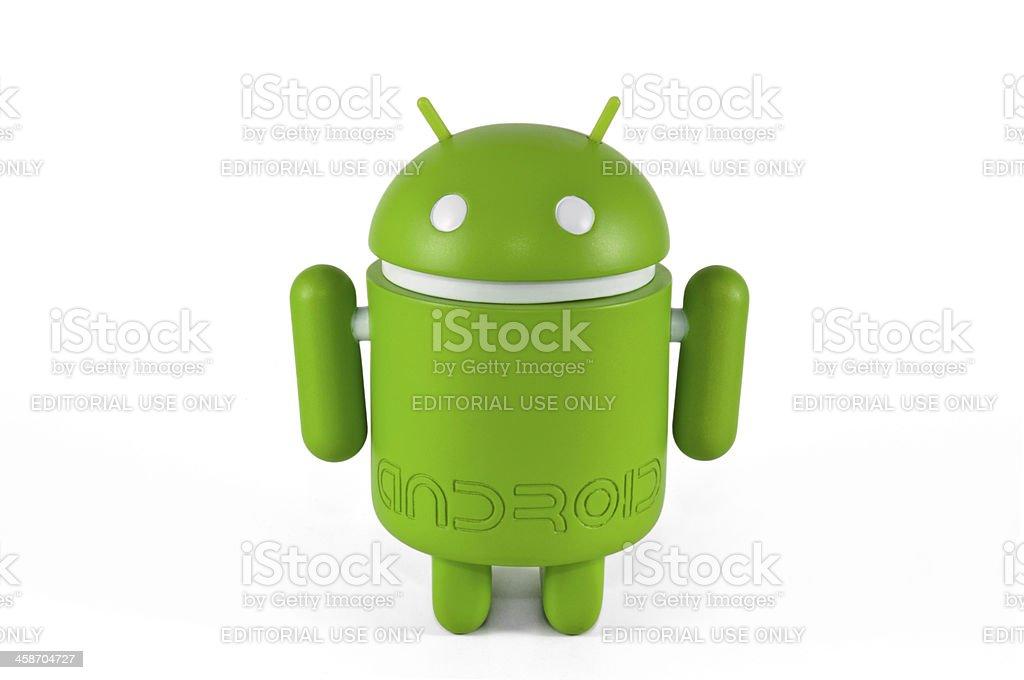 Google Android Mascot stock photo