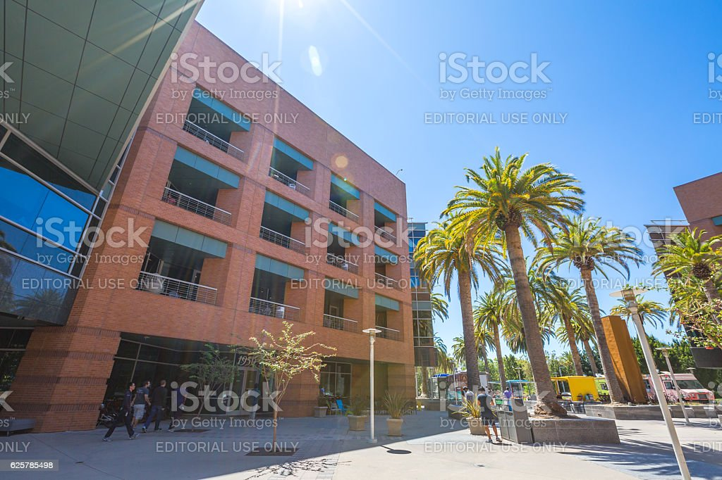 Google Building 1950 California stock photo