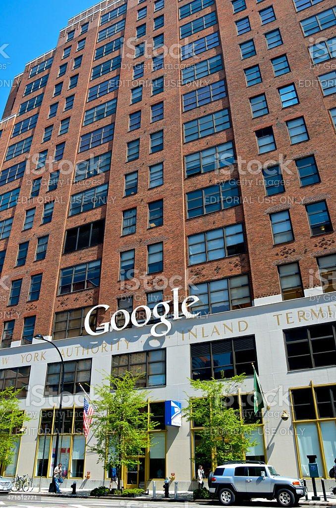 Google Building, Chelsea, New York City royalty-free stock photo