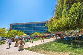 Google Building courtyard