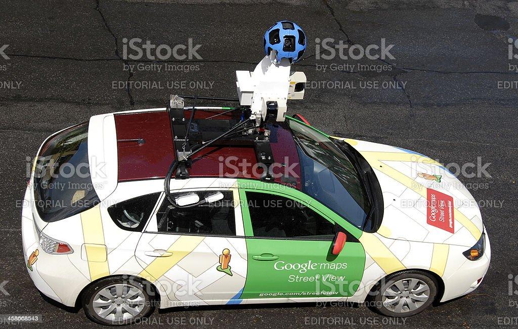 Google car street view stock photo