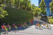 Google colorful bikes