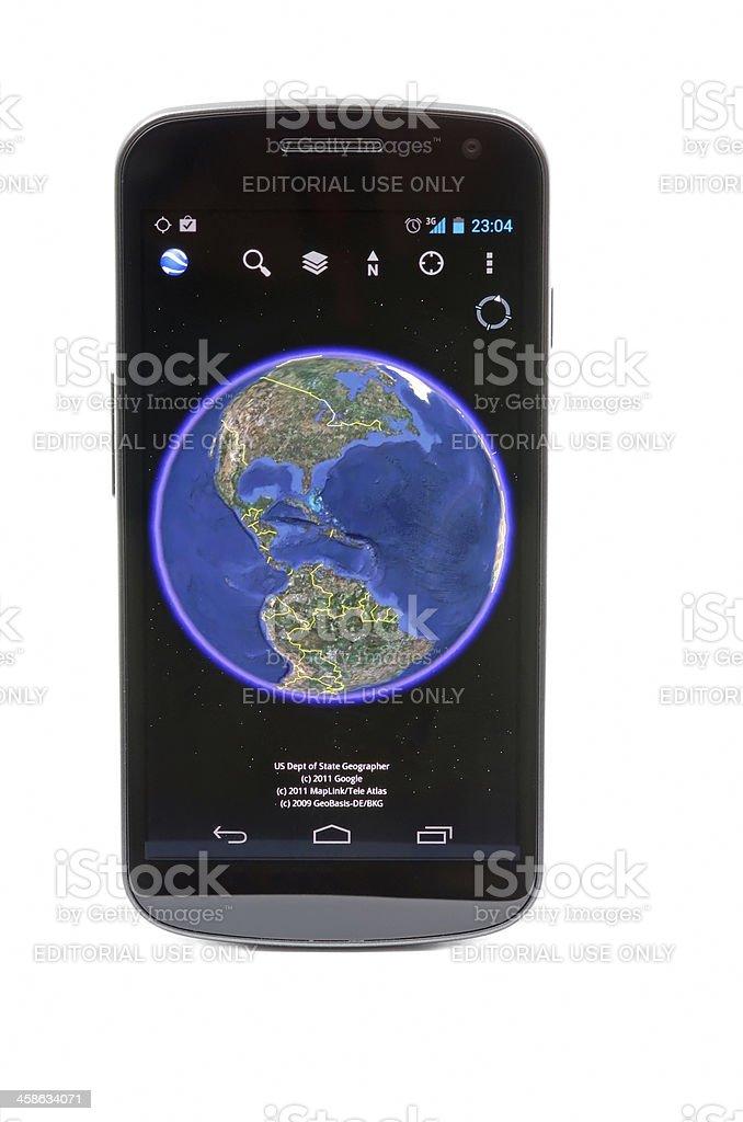 Google Earth stock photo